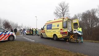 Fietser gewond in Zwolle
