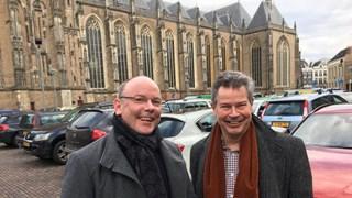 Tjeerd van der Meulen (GroenLinks) en Daaf Ledeboer (VVD)