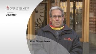 De Deventer politici mochten pitchen voor de RTV Oost-verkiezingskaravaan
