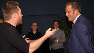 Minister De Jonge bezocht ondernemersproject in Hardenberg
