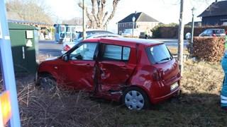 Flinke schade aan auto