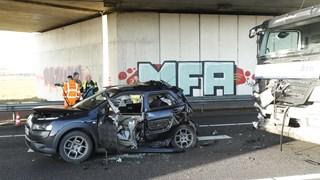 Ongeluk op de N50 tussen Kampen en Zwolle