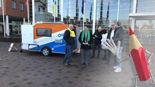 De verkiezingskaravaan stond vandaag in Hof van Twente