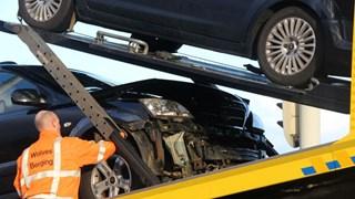 Twee auto's beschadig bij ongeluk in Wierden