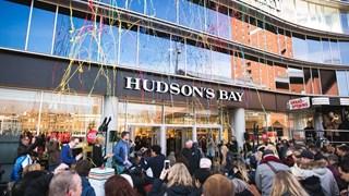 Officiële opening Hudson's  Bay Enschede