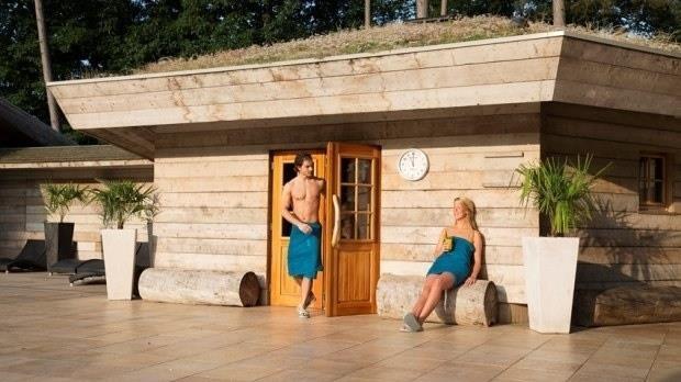 Sauna en wellness arrangement - fotograaf: Saré Thermen en Beauty