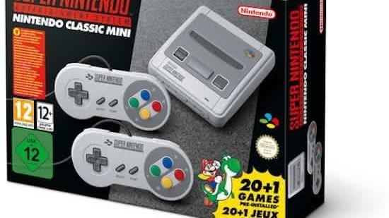 Nintendo Classic Mini Super Nintendo Entertainment Systeem - fotograaf: Nintendo
