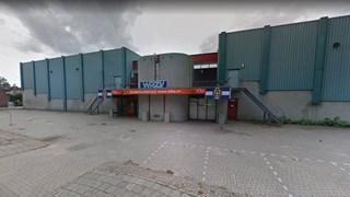 De huidige WRZV-hallen in Zwolle