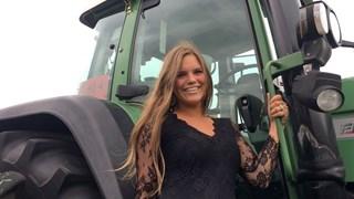 Sharon Snijders prijkte al eens op de Boerinnenkalender, maar gaat nu de politiek in