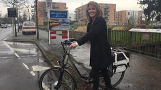 Lorette Bosch strijdt samen met andere Glanerbruggers al jaren voor een veiligere Gronausestraat