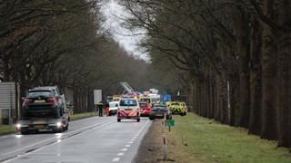 N35 afgesloten na ongeval