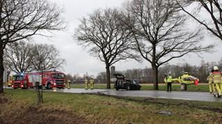 Zwaar ongeval op N35