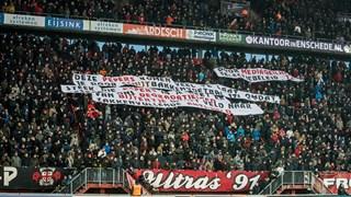 FC Twente-fans kritisch op Verbeek en Van Halst