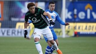 Saymak maakte zijn elfde tegen Feyenoord