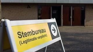 De stembureaus zijn open
