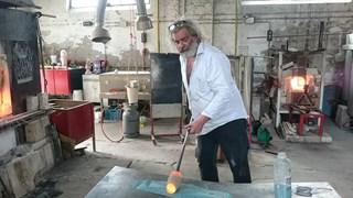 Bernard Heesen aan het werk