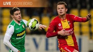 GA Eagles op bezoek bij Dordrecht
