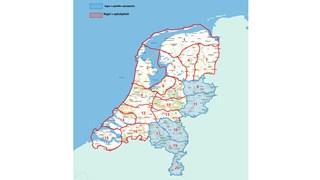 Overzicht van regio