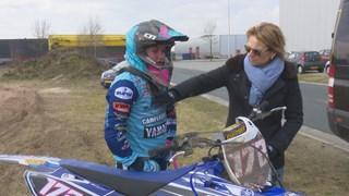 Lynn Valk (15) klaar voor WK motorcross