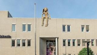 Een artist impression van Pan op het dak van ArtEZ Conservatorium