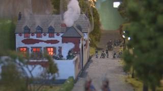 Deel van het diorama in CHC Vollenhove