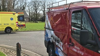 Motorrijder gewond in Tubbergen