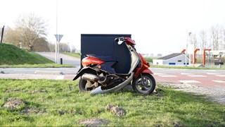 Scooterrijder gewond bij ongeluk Kampen