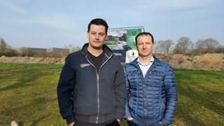 Brouwers (links) en Kemerink (rechts) vrezen klachten van hun toekomstige buren