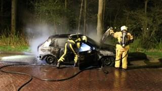 Auto uitgebrand in Rijssen