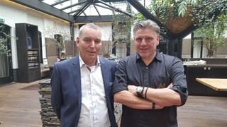 Herman Ogink (links) en Jonnie Boer (rechts)