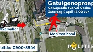 Mogelijke getuige overval casino Zwolle gezocht