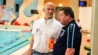 Hans van Zeeland en Jan Mensink (r)