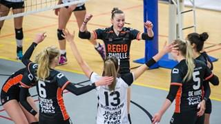 Zege voor Regio Zwolle Volleybal