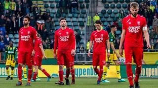 Opnieuw teleurstelling bij Twente