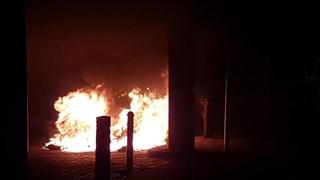 Autobrand in Hengelo