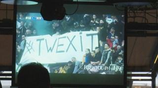 Spandoek met #Twexit