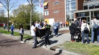 Grote brand bij zorgcentrum Fermate in Zwolle