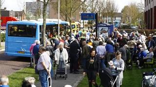 Evacuatie bij brand in zorgcentrum Fermate in Zwolle