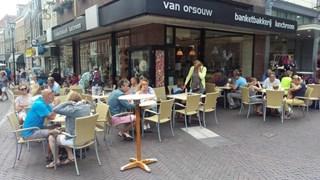 Van Orsouw in binnenstad van Zwolle