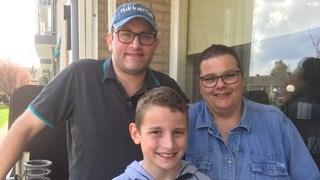 Heg gezin Weustink, vader en moeder raakten gewond bij het monstertruck-drama in Haaksbergen