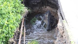 Opnieuw een waterleidingbreuk in Nijverdal