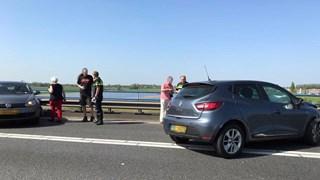 File op A1 van Deventer richting Apeldoorn door ongeval
