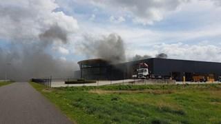 Brand op bedrijventerrein Oostermeentherand
