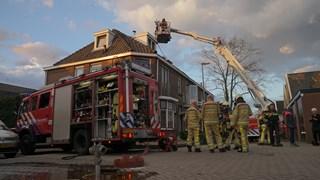 Brand in een hoekwoning in Deventer