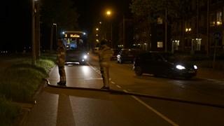 Brand in Deventer, weg afgesloten voor verkeer