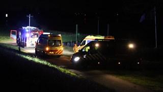 Hulpdiensten meldden zich aan de IJssel voor hulp aan slachtoffer