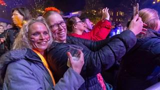 In beeld: Koningsnacht in Enschede