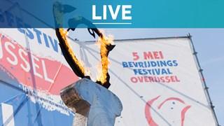 Kijk mee naar de livestreams van het Bevrijdingsfestival Overijssel