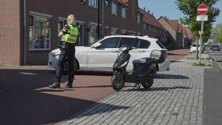 Scooterrijder gewond in Deventer