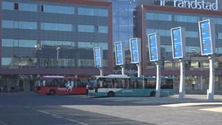 Slechts een enkele bus reed vandaag wel